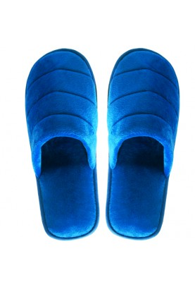 Cinnamon Slippers Velvet (Blue)