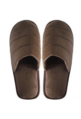 Cinnamon Slippers Velvet ( brown)