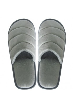 Cinnamon Slippers Velvet (Gray)