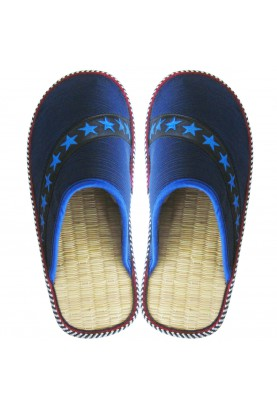"Cinnamon Slippers ""Blue Star"""