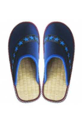 """Pantoufles à la cannelle """"Étoile bleue"""""""