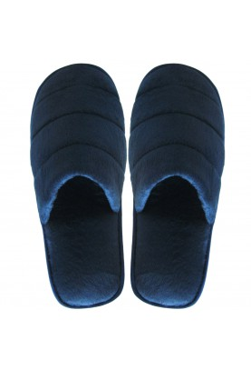 Cinnamon Slippers Velvet (dark blue)