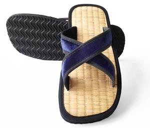 Bequeme Sandale aus Seegras