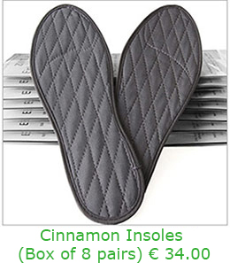 Cinnamon Insoles in a Box of 8