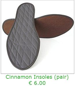 Cinnamon Insoles per pair