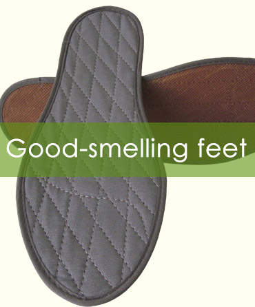 Cinnamon Insoles - shoe inserts for sweaty feet