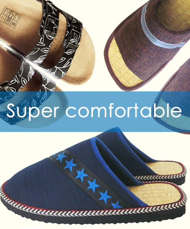 Comfortable carpet slippers & sandals
