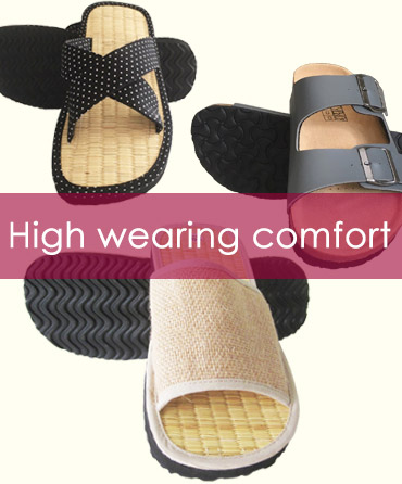 Very comfortable slippers with fine cinnamon fragrance.