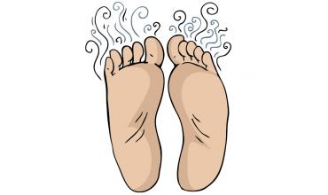 Fußschweiß muss nicht immer übel riechen