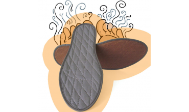 Einlegesohlen mit Zimt, das Hausmittel gegen Schweißfüße