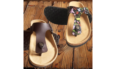 High quality and comfortable cork flip flops