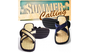 Bring summer home with our great slippers!